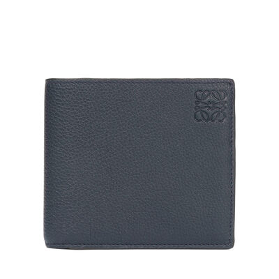 LOEWE Bifold Wallet Midnight Blue/Black front