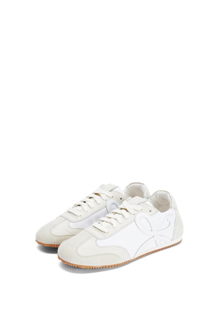 LOEWE 牛皮革芭蕾舞跑鞋 White/Off-white pdp_rd