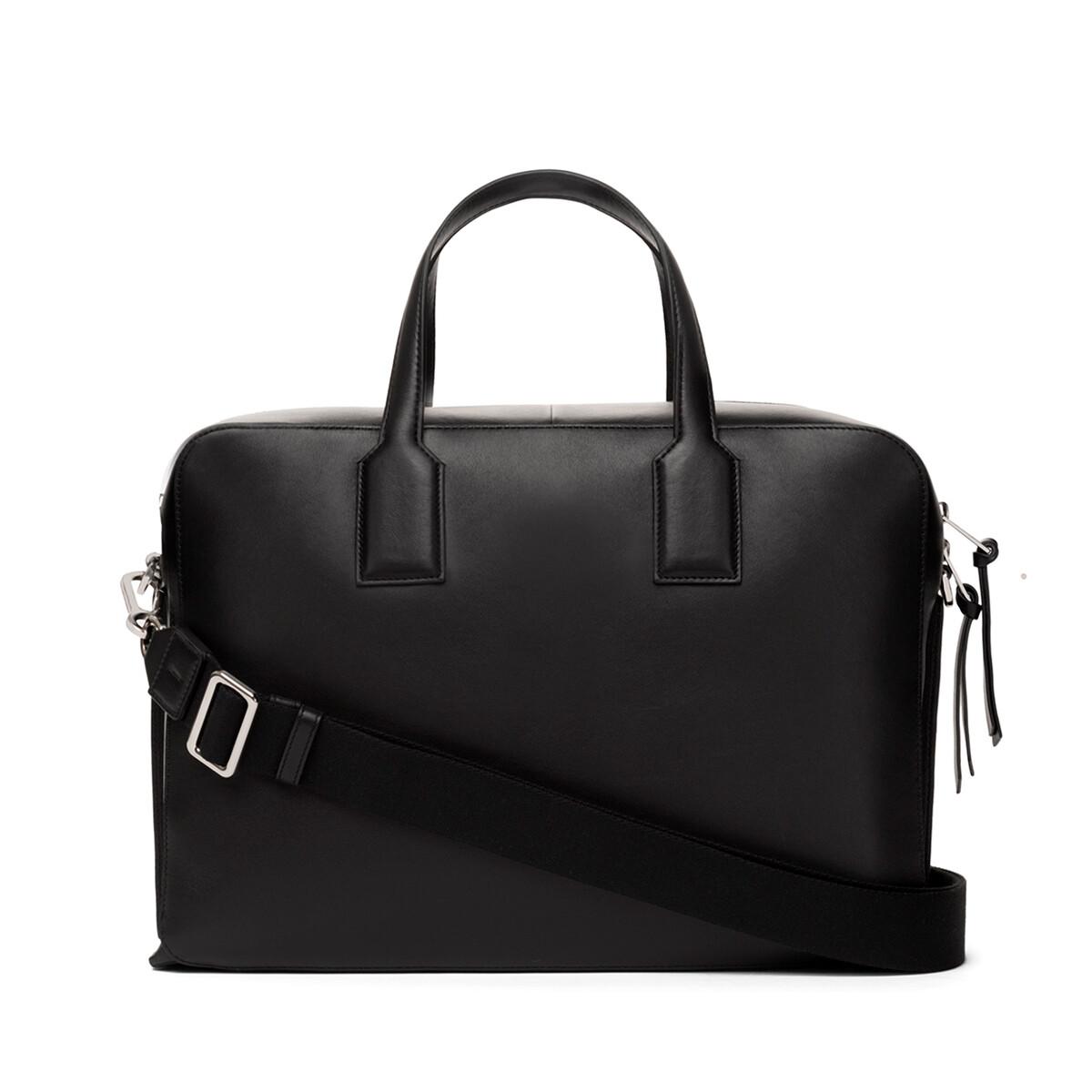 LOEWE Goya Briefcase 黑色 front