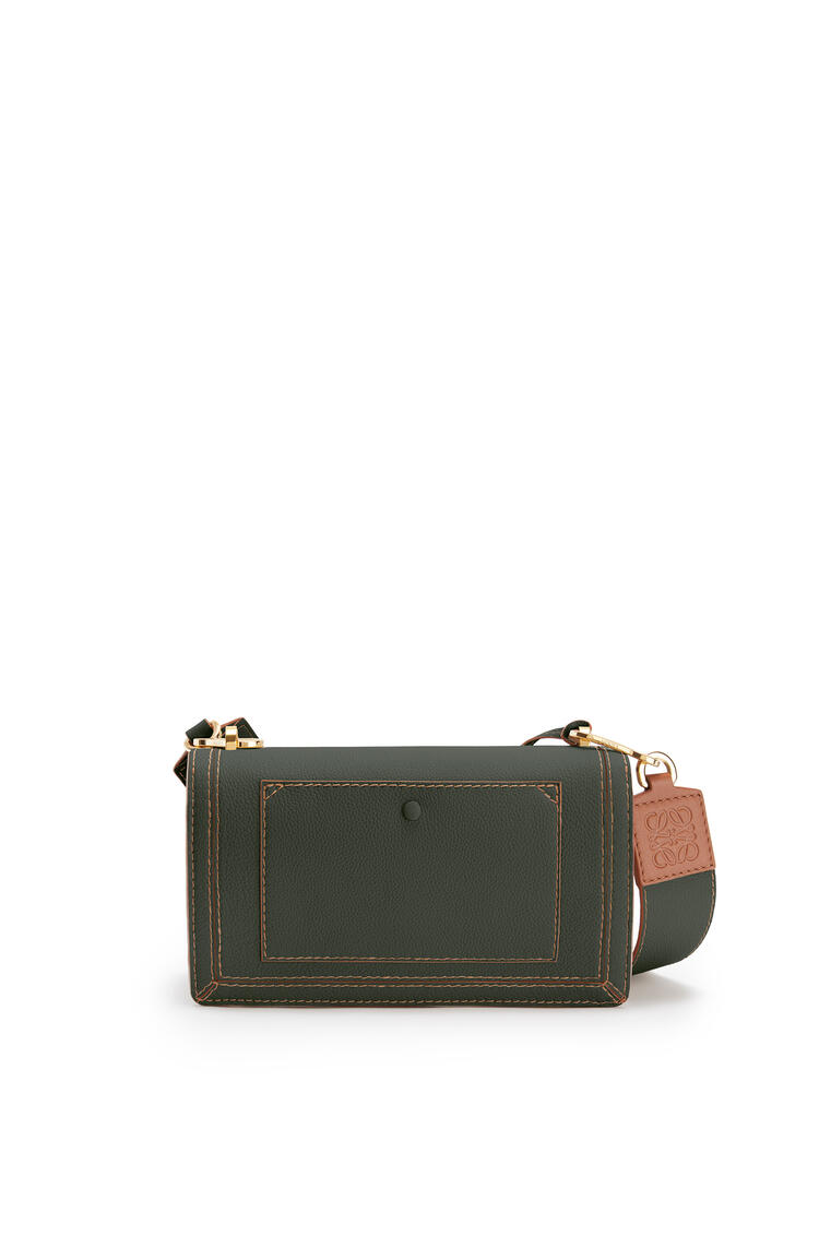 LOEWE Barcelona bag in soft grained calfskin Vintage Khaki pdp_rd