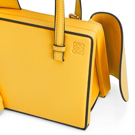 LOEWE Postal Wings Small Bag Yellow Mango front