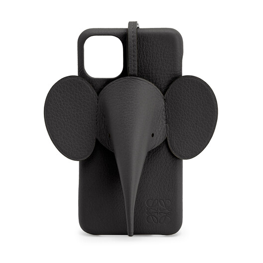 LOEWE Elephant Cover For Iphone 11 Pro Max Black front