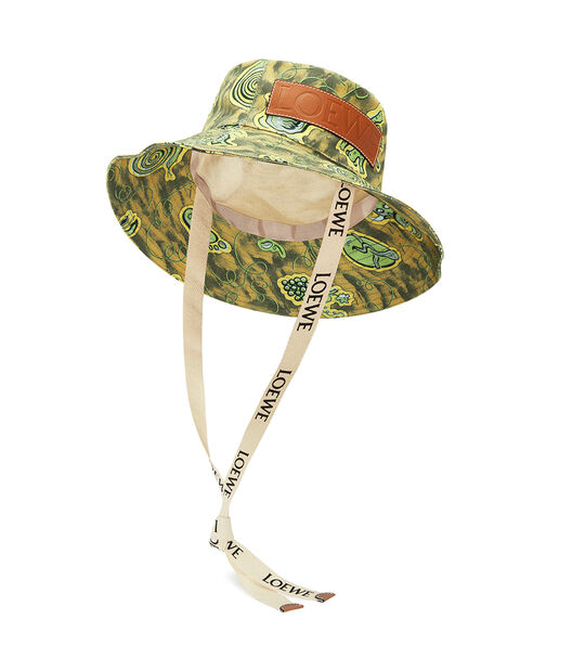 LOEWE Paula Bucket Hat 绿色 front