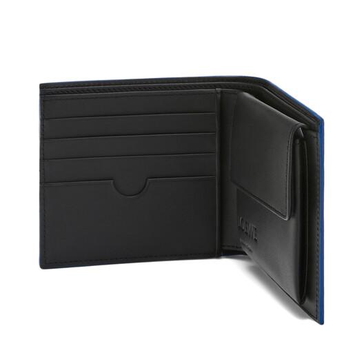 LOEWE 两折零钱包 Steel Blue front