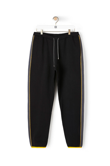 LOEWE Eln Fleece Trousers Black front