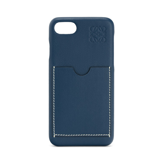 LOEWE Cover For Iphone 8 靛蓝色 front