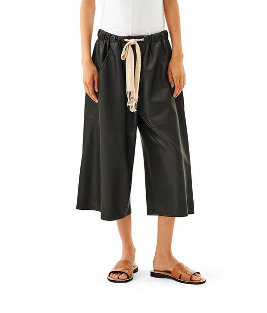 LOEWE Pantalon Corto Negro front