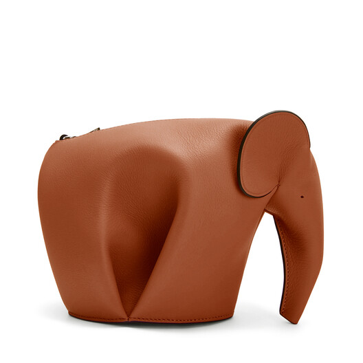 LOEWE Elephant Mini Bag 棕褐 front