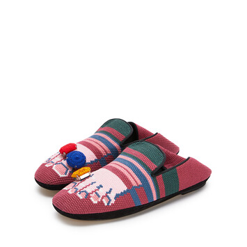 LOEWE Slipper Dedos Fucsia/Rosa front