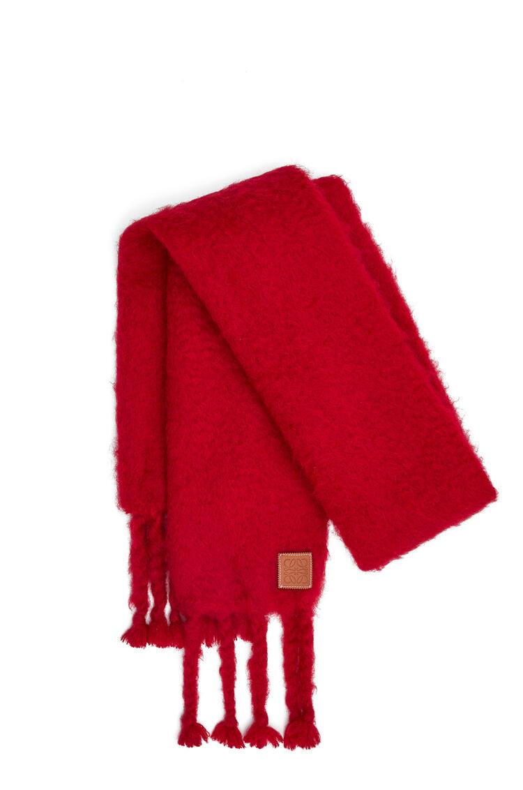 LOEWE 45 x 230 cm スカーフ(モヘア) ラズベリー pdp_rd