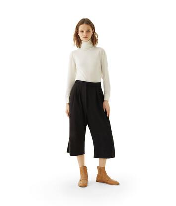 LOEWE Short Trousers Black front