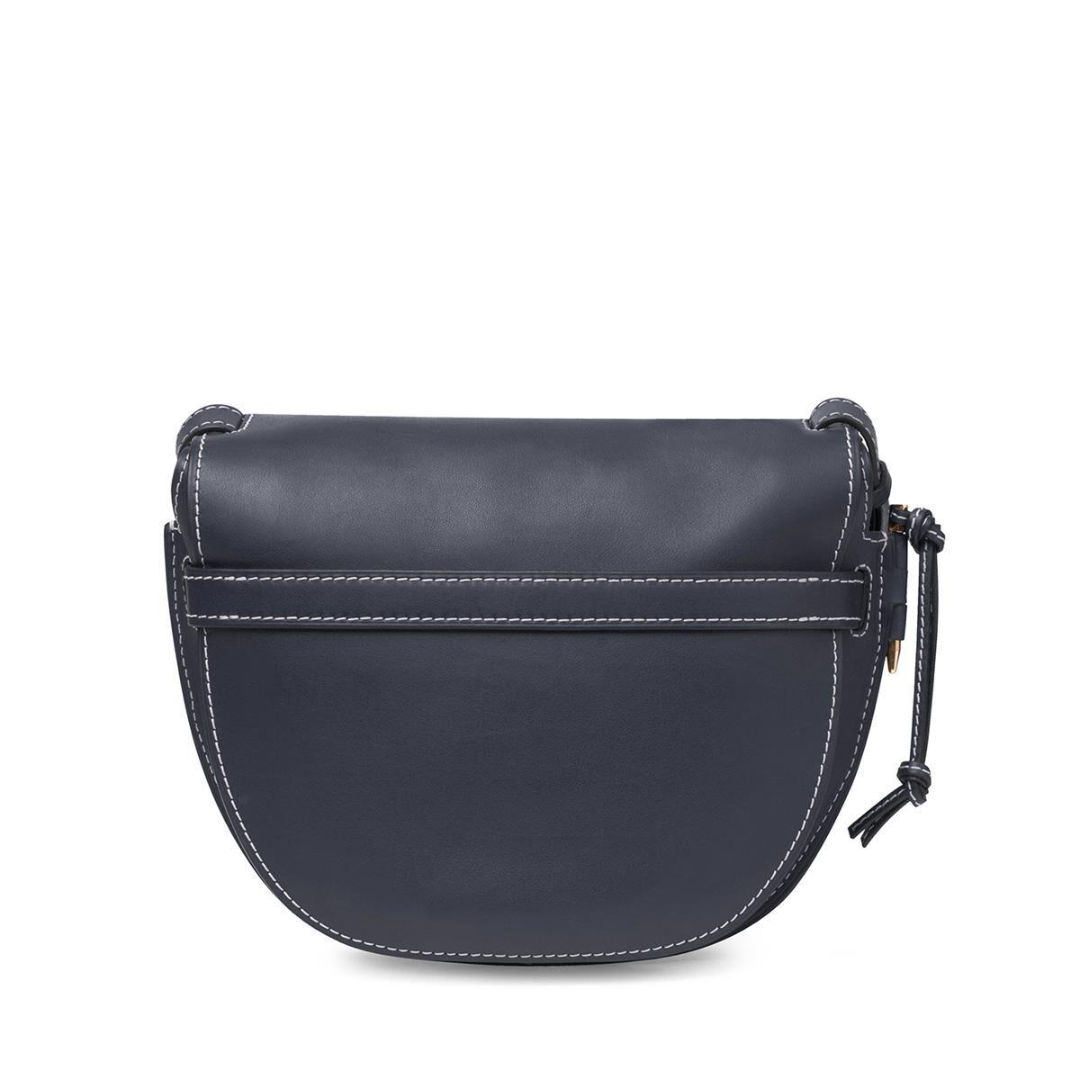 LOEWE Gate Bag Midnight Blue all