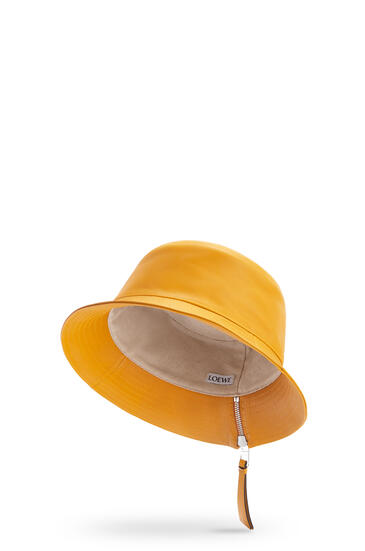 LOEWE Fisherman hat in nappa calfskin Narcisus Yellow pdp_rd