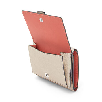 LOEWE Trifold Wallet Light Oat/Honey front