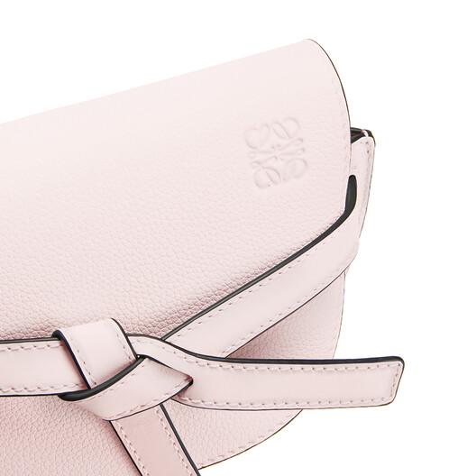 LOEWE Gate Mini Bag Icy Pink front
