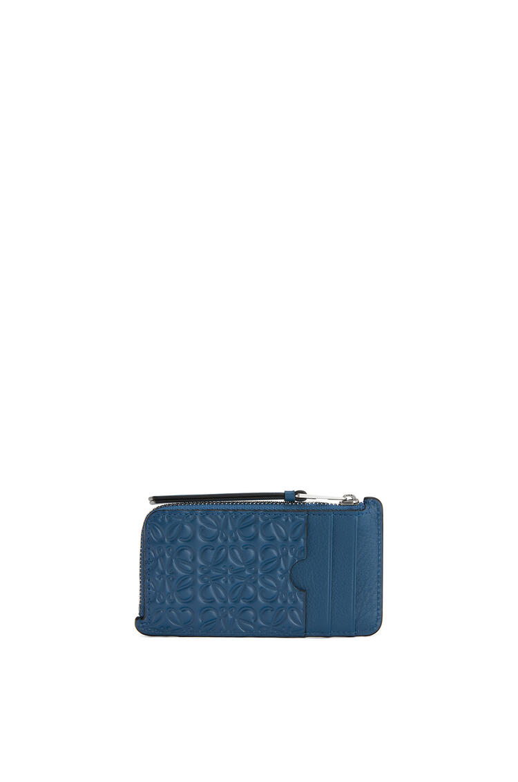 LOEWE Puzzle coin cardholder in calfskin Indigo pdp_rd