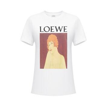 T-Shirt Loewe Portrait