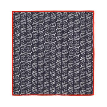 LOEWE 50X50 Paula Print Bandana Red/Black front