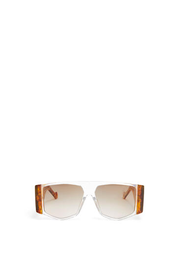 LOEWE GAFAS ACETATO MASK Ambar/Marron Degradado pdp_rd