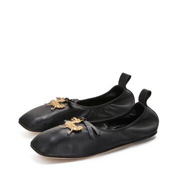 LOEWE Dodo Ballerina 黑色 front