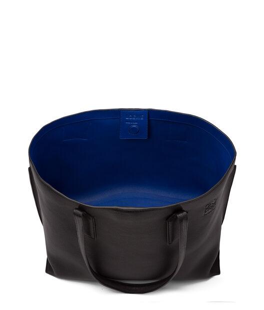 LOEWE T Shopper Bag Black/Electric Blue all