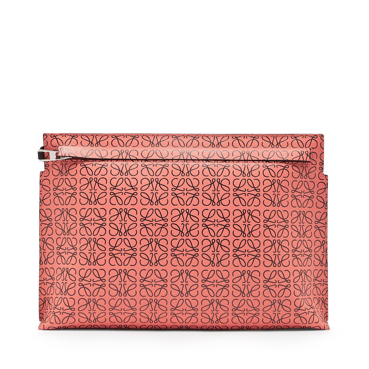 LOEWE T Pouch Repeat Pink Tulip/Black all