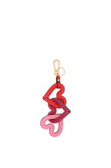 LOEWE Heart Chain Charm Scarlet Red/Multicolor pdp_rd