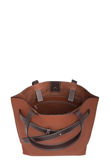 Strap Vertical Tote Bag