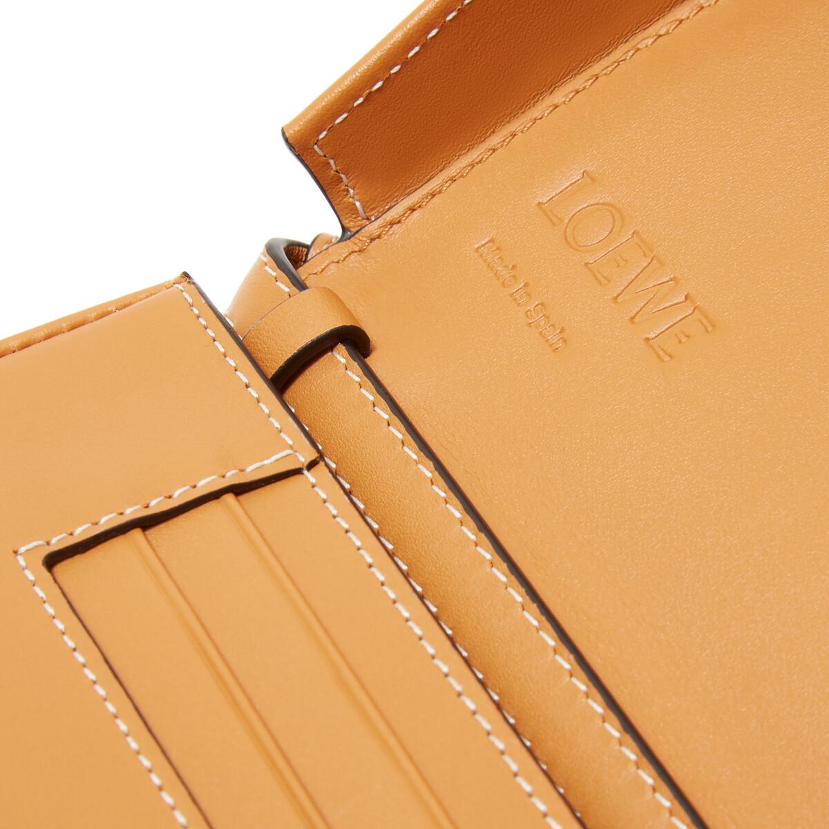 LOEWE Heel Mini Bag Amber front