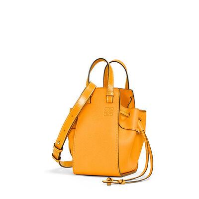 LOEWE Mini Hammock Dw Bag Mandarin front
