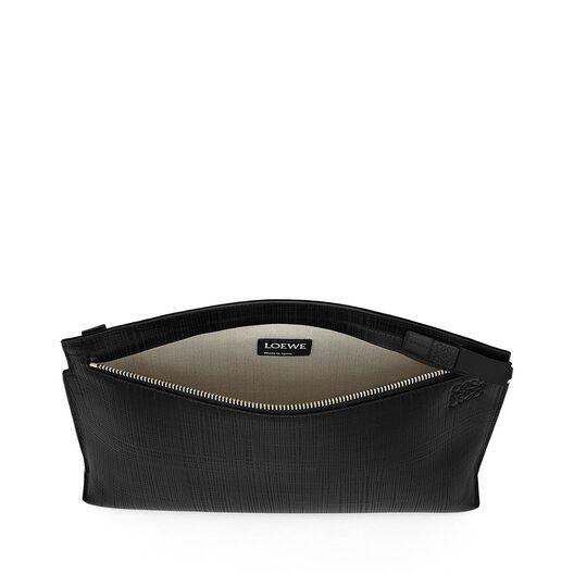 LOEWE T Pouch Linen Black all