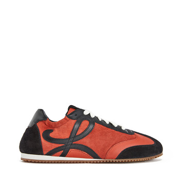 LOEWE Ballet Runner Rust Red/Black front