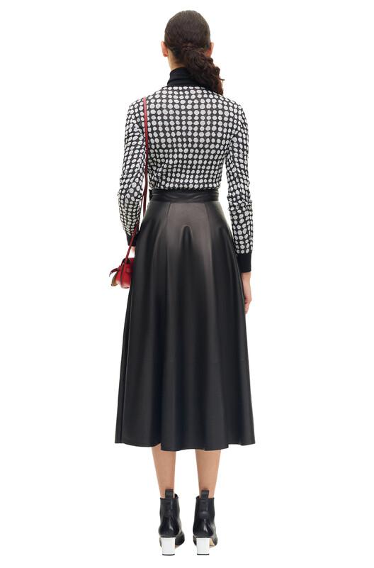 LOEWE Skirt 黑色 front