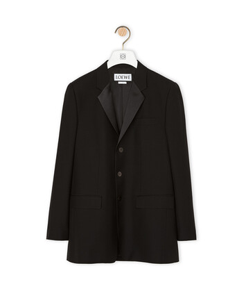LOEWE 3Bt Jacket 黑色 front
