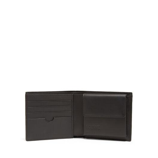 LOEWE Bifold/Coin Wallet Vetiver/Black front