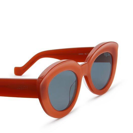 LOEWE Butterfly Sunglasses 红色 front