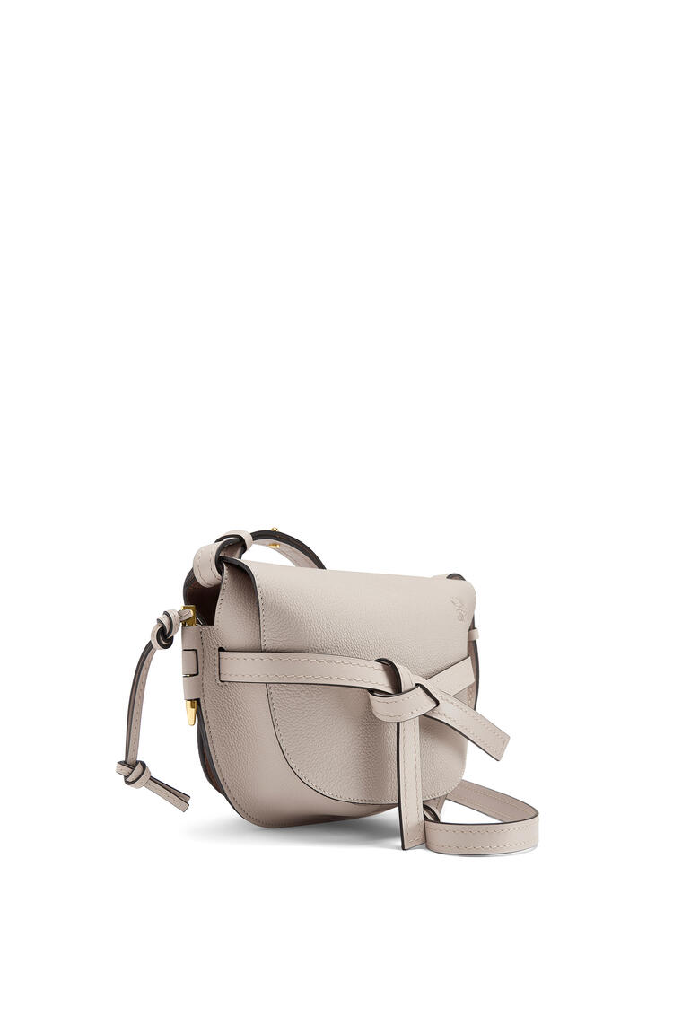 LOEWE Small Gate Bag In Soft Grained Calfskin Light Oat pdp_rd