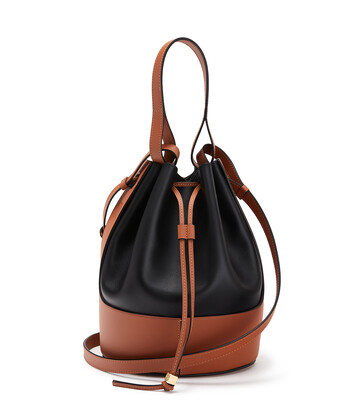 LOEWE Balloon Bag Black/Tan front