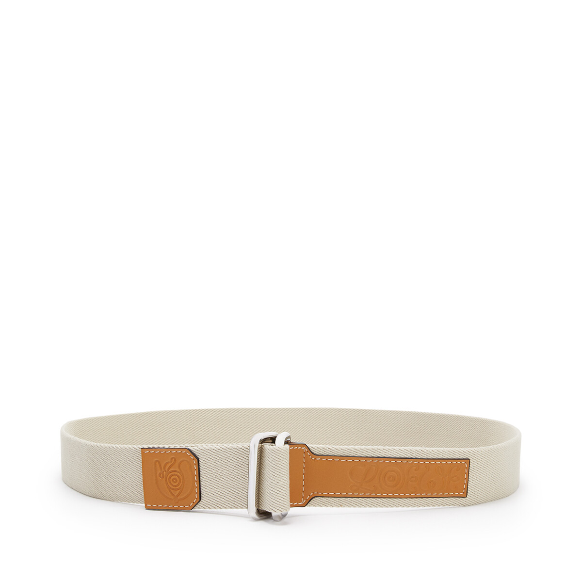 LOEWE Eye/Loewe/Nature Belt Light Oat front