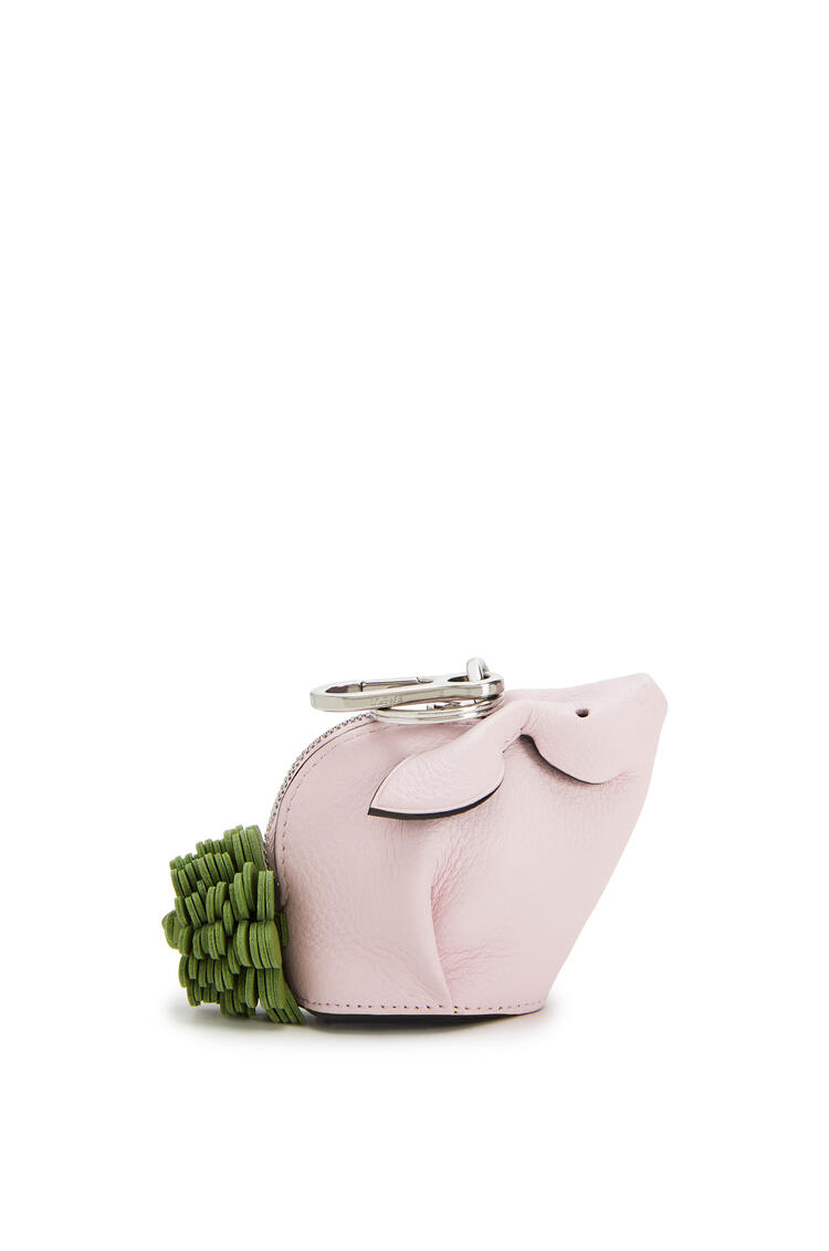 LOEWE Bunny charm in classic calfskin Icy Pink pdp_rd