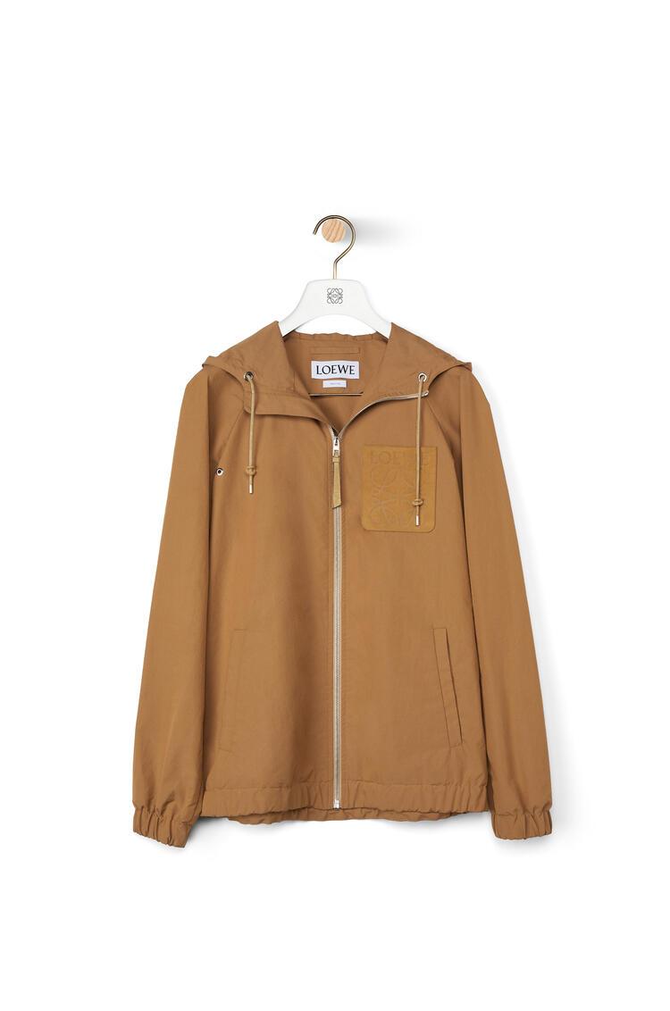 LOEWE Zip Hood Jacket Beige pdp_rd