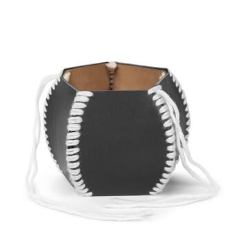 LOEWE Macrame Bracelet Black/White front