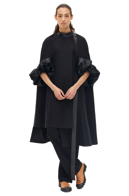 LOEWE オペラコート ブラック all