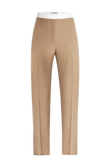 LOEWE Trousers Beige front