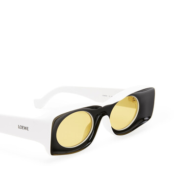 LOEWE Gafas Paula Negro/Blanco front