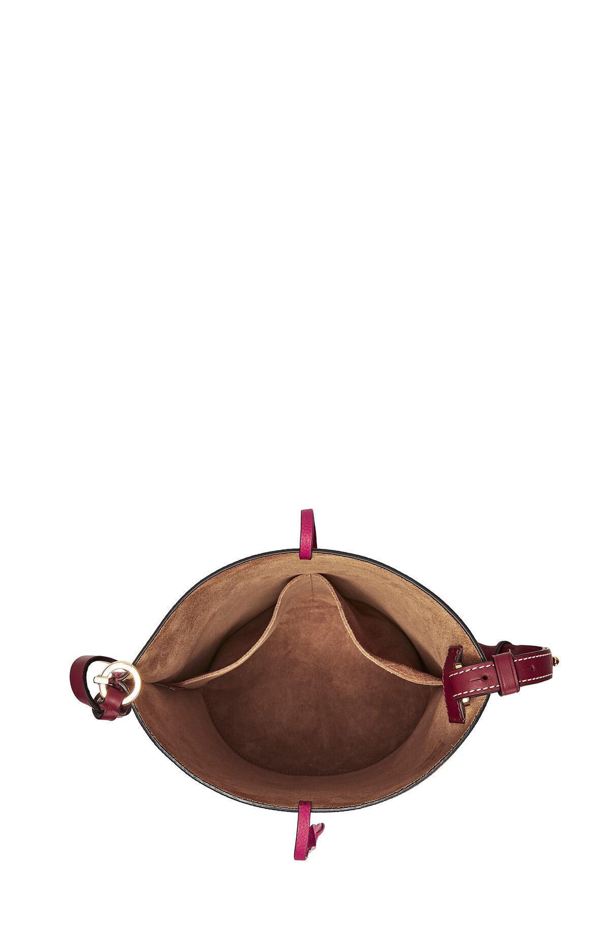 LOEWE Bolso Gate Bucket Frambuesa/Vino all