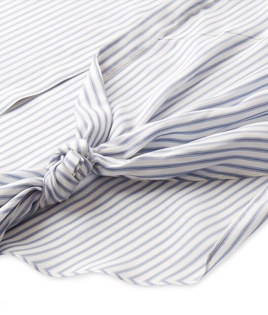 LOEWE Shirt With Knot Detail Azul/Blanco all