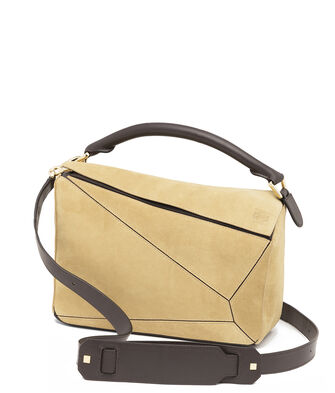 LOEWE Bolso Puzzle Oro front