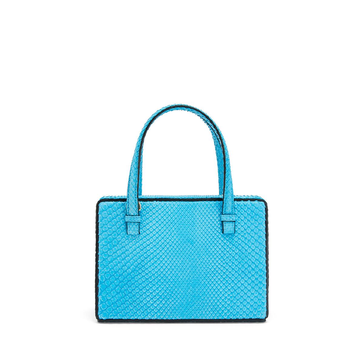 LOEWE Postal Small Bag Sky Blue front