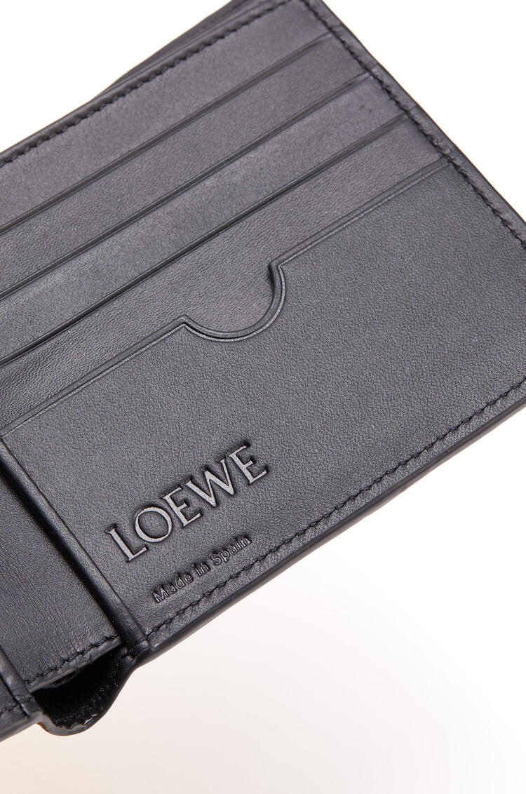 LOEWE 经典小牛皮 Puzzle 双折钱包 Khaki Green/Ochre pdp_rd